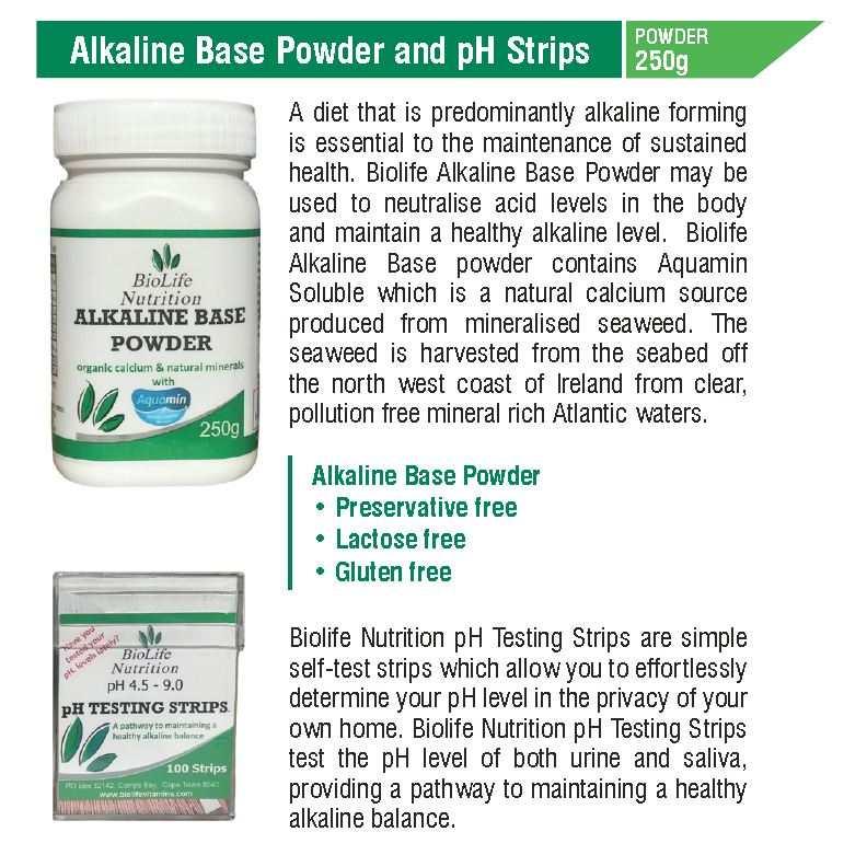 Alkaline Base Powder 250g