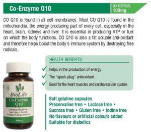 Co-EnzymeQ10 30mg (30 Capsules)
