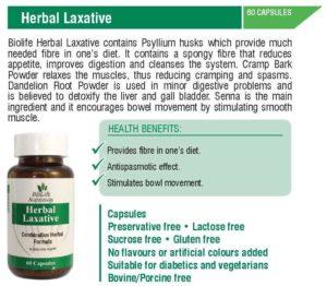 Herbal Laxative (60 Vegicaps)
