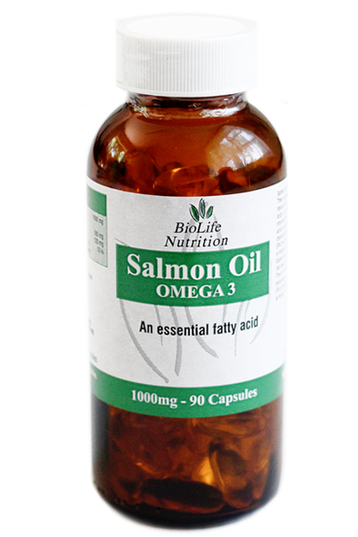 Salmon Oil 1000mg (90 Capsules)