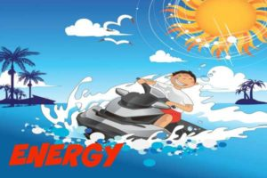 energy boy sun sea